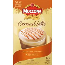 Photo of Moccona Sachets Caramel Latte 10pk