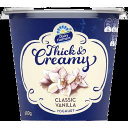 Photo of Dairy Farmers Thick & Creamy Vanilla 600gm