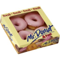 Photo of Mr Donut Ring Donut Strawberry 400gm
