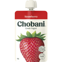 Photo of Chobani Greek Yoghurt Strawberry 140g