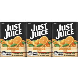 Photo of Just Juice Orange 6x200ml