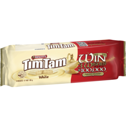 Photo of Arnott's Tim Tam Chocolate Biscuits White Win 3 Wishes Promo 165g
