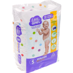 Photo of Little Ones Ultra Dry Nappies Walker Boys & Girls 13-18Kg Size 5 13 Pack