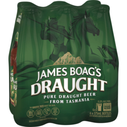 Photo of James Boag's Draught Stubbies