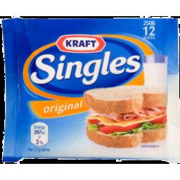 Photo of Kraft Cheese Singles Original 216gm