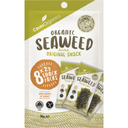 Photo of Ceres Organics Original Seaweed Snacks