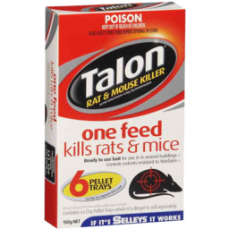 Photo of Talon Rat & Mouse Killer 150gm