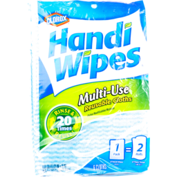 Photo of Clorox Handi Wipes Multi-Use Reuseable Cloths - 6 Ct