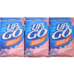 Photo of Up&Go Liquid Breakfast Strawberry 3x250ml