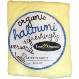 Photo of True Organics - Cheese - Haloumi - 180g