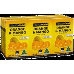 Photo of Black & Gold Orange&Mango Fruit Drink 6ml