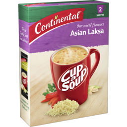 Photo of Continental Cup A Soup Asian Laksa 2 Pack 65g