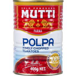 Photo of Mutti Chopped Tomatoes Finely Chopped (400g)