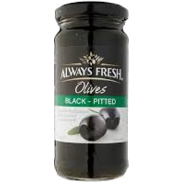 Photo of Always Fresh Black Olives Pitted 220gm