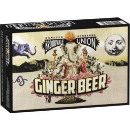Photo of Brookvale Ginger Beer Can 330ml 24 Pack
