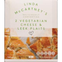 Photo of Lmc Cheese & Leek Plaits 340gr
