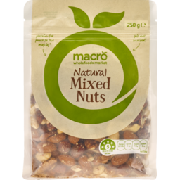 Photo of Macro Natural Mixed Nuts 250g