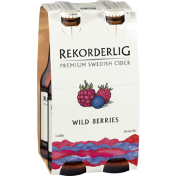 Photo of Rekorderlig Wild Berries Cider Stubbies