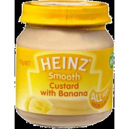 Photo of Heinz Custard With Banana 110g