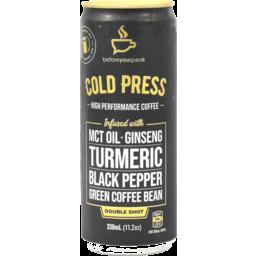 Photo of Beforeyouspeak Coffee Shot MCT Tiurmeric Ginseng 330ml