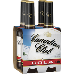 Photo of Canadian Club Whisky & Cola Stubbies
