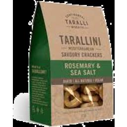 Photo of Tarallini Rosemary & Sea Salt125g