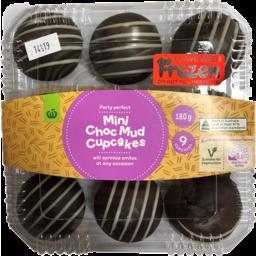 Photo of Mini Cupcakes WW Chocolate Mud 9 Pack