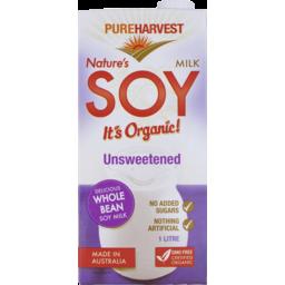 Photo of Pureharvest Unsweetened Soy Milk