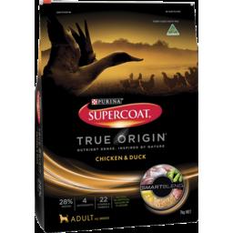 Photo of Supercoat Adult True Origin Chicken & Duck Dry Dog Food 7kg