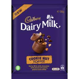Photo of Cadbury Dairy Milk Cookie Nut Toffee 350g