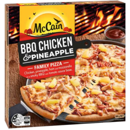 Photo of McCain Pizza BBQ Chicken And Pineapple 500gm