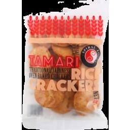 Photo of Spiral Foods Rice Crackers - Tamari