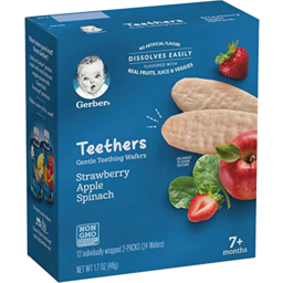 Photo of Gerber Teethers Strawberry Apple Spinach
