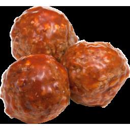 Photo of W/Haus Pork/Veal Meatballs 850g