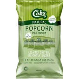 Photo of Cobs Popcorn Salted & Sweet 5pk