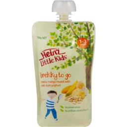 Photo of Heinz Little Kids Banana Mango Muesli With Greek Style Yoghurt 150g