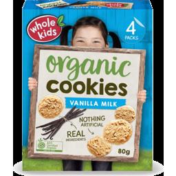 Photo of Whole Kids Cookies - Vanilla Milk (4 Pack)