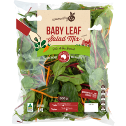 Photo of Community Co Baby Leaf Salad Mix 300g