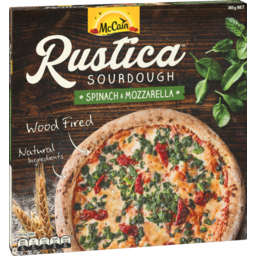 Photo of Mccain Rustica Pizza Spinach And Mozzarella 365g 365g