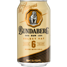 Photo of Bundaberg Vat & Cola Can