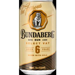 Photo of Bundaberg Vat & Cola Can