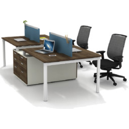 Photo of 2-Seater Workstation Lt-W1412b