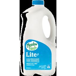 Photo of Meadow Fresh Milk Lite 2L