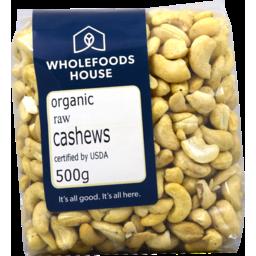 Photo of Wholefoods House Cashews Raw Org 500g