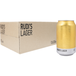 Photo of Rudi's Lager 12 X 330ml