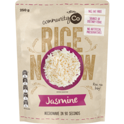 Photo of Community Co Jasmine Microwavable Rice 250g