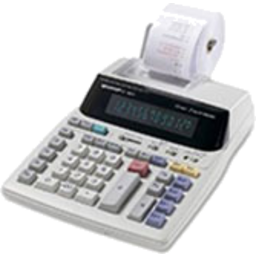 Photo of 12 Digit Printing Calculator