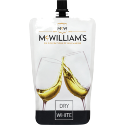 Photo of Mcwilliam's Dry White Sachet 250ml