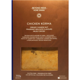 Photo of Beyond India Home Dining Chicken Korma 350g