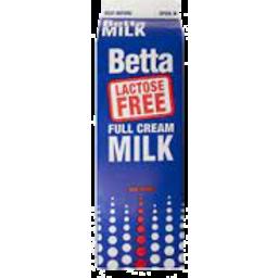 Photo of Betta Lactose Free Full Cream Milk 1lt